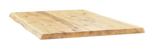 Tischplatte Eiche mit Baumkante 40 mm
