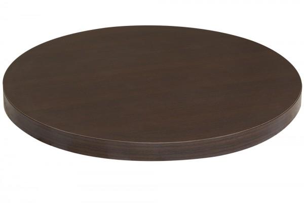 Tischplatte (Rund) Melaminharz 50 mm Aufgedoppelt