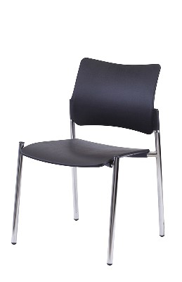 Gestell: Metall | Sitz / Rücken: Kunststoff