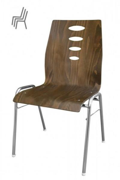 Gestell: Metall | Sitzschale: Sonderbeizton