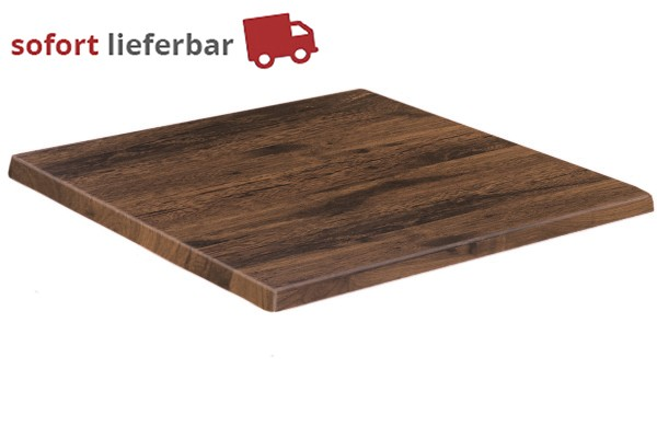 Werzalit - Eiche Antik Outdoor-Tischplatte
