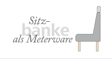 Sitzbänke als Meterware