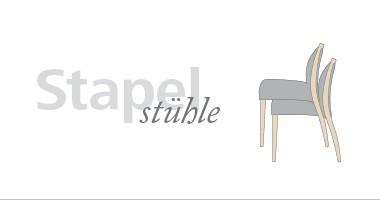 Stapelstuhl und stapelbarer Stühle