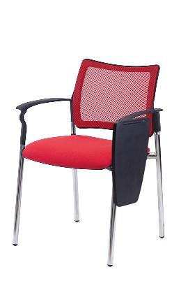 Gestell: Metall | Bezug: Sonderbezug | Rücken: Stoff (Rot)