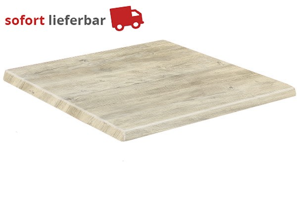 Werzalit - Ponderosa Weiß Outdoor-Tischplatte
