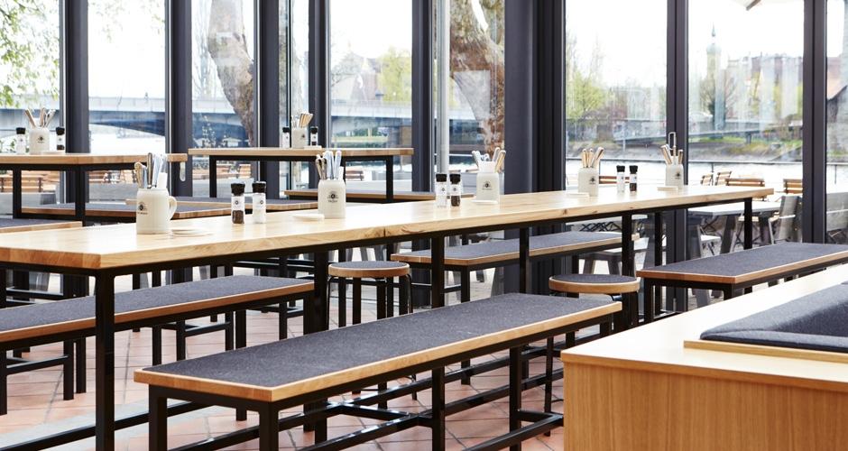 gastronomie m bel von kason gastro restauranteinrichtung. Black Bedroom Furniture Sets. Home Design Ideas